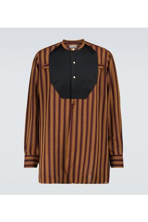 WALES BONNER Men Long sleeves - Kingston plastron shirt