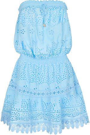 Melissa Odabash Women Mini Dresses - Iris cotton minidress