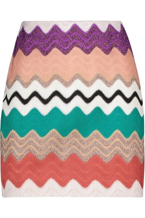 Missoni Women Mini Skirts - Zigzag knit miniskirt