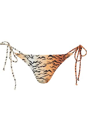 Reina Olga Women Bikinis - Miami tiger-print bikini bottoms