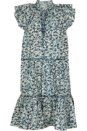 VERONICA BEARD Women Printed Dresses - Zee printed cotton minidress