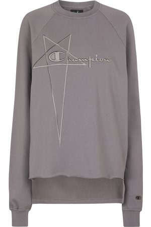 Rick Owens Women Sweatshirts - X Champion® cotton sweatshirt