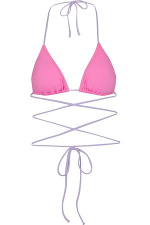 Reina Olga Women Bikinis - Exclusive to Mytheresa – Miami wrap-tie bikini top