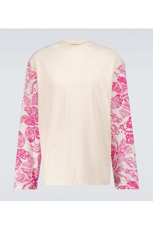 Marni Sweatshirt with printed sleeves