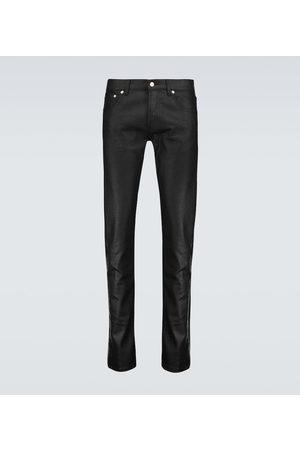 Alexander McQueen Paneled jeans