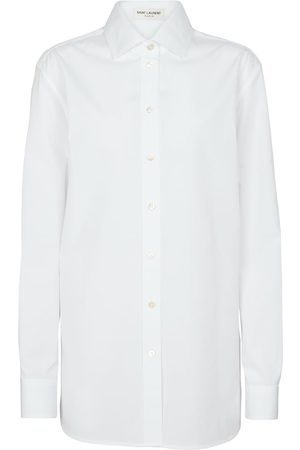 Saint Laurent Oversized cotton poplin shirt