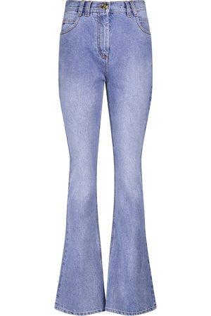 Balmain Women High Waisted - High-rise flared jeans