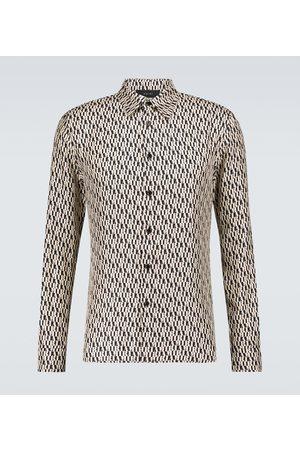 AMIRI Men Long sleeves - Monogrammed long-sleeved shirt