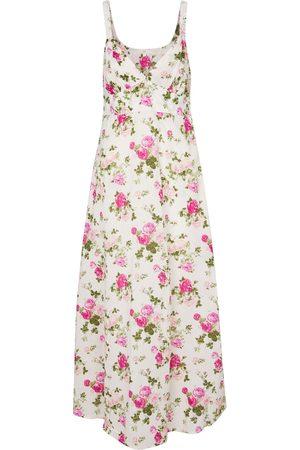 LOVESHACKFANCY Women Printed Dresses - Sabina floral cotton midi dress