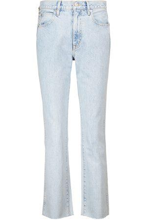 SLVRLAKE Women High Waisted - Hero high-rise straight jeans