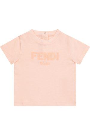 Fendi T-shirts - Baby cotton jersey T-shirt