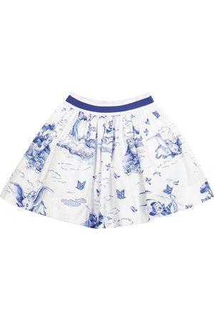 MONNALISA Girls Printed Skirts - X Disney® printed poplin skirt