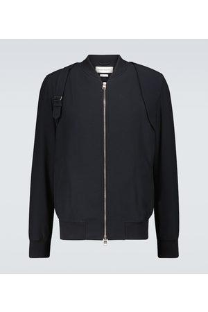 Alexander McQueen Men Bomber Jackets - Harness bomber jacket