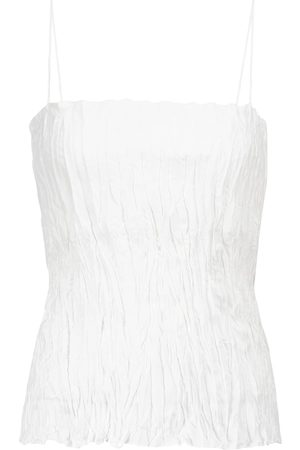 Totême Women Camisoles - Crinkled silk camisole