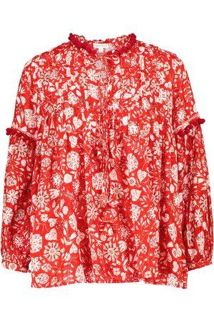 POUPETTE ST BARTH Women Blouses - Exclusive to Mytheresa – Clara floral blouse