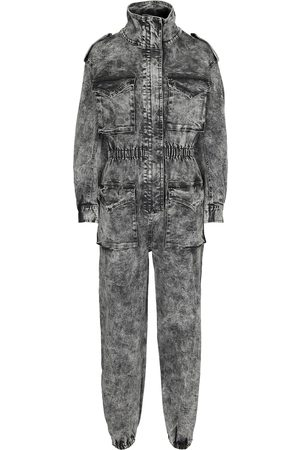 Norma Kamali Women Jumpsuits - Turtle denim jumpsuit