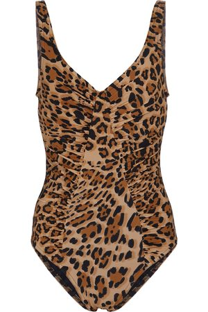 Karla Colletto Women Swimsuits - Exclusive to Mytheresa – Bree leopard-print swimsuit