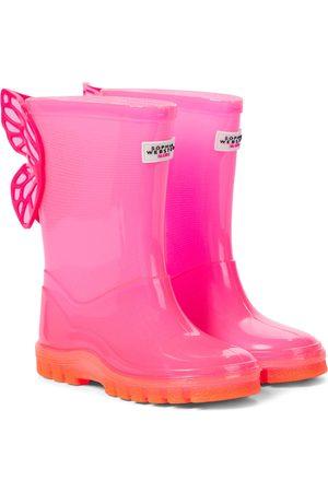 SOPHIA WEBSTER Girls Rain Boots - Butterfly rubber rain boots