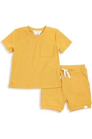 FIRSTS by petit lem Baby Boy's St. Tropez 2-Piece T-Shirt & Shorts Set - - Size 24 Months