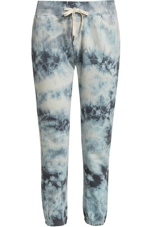 NSF Women's Sayde Sweatpant - Storm Tie Dye - Size Medium