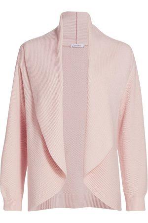 Max Mara Women's Rollio Shawl Collar Cashmere Cardigan - - Size Small