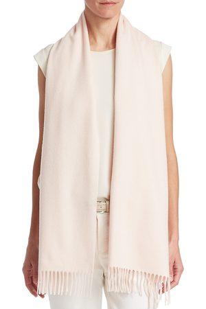 Loro Piana Women Scarves - Women's Sciarpa Grande Curac Cashmere Scarf - Light