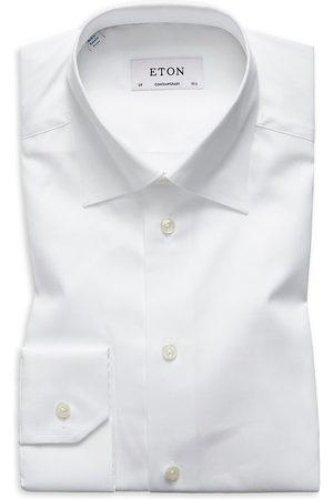 Eton Men's Contemporary-Fit Twill Dress Shirt - - Size 17