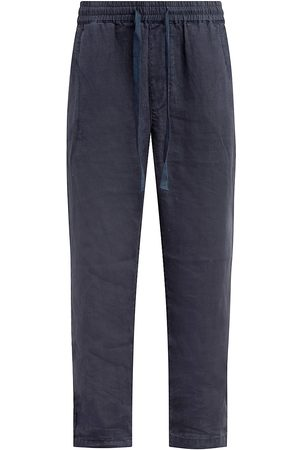 Joes Jeans Men Pants - Men's Drawstring Linen Pants - Night Sky - Size XXL