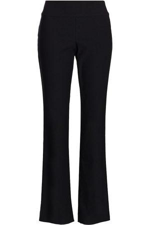 NIC+ZOE Women's Bootcut Wonderstretch Trousers - Onyx - Size 18