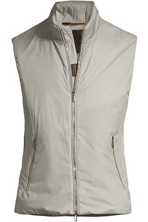 MOORER Men's Lightweight Zip Vest - Corda - Size 42
