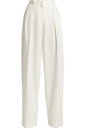 The Row Men Pants - Men's Igor Washed Cotton Trousers - Off - Size 0