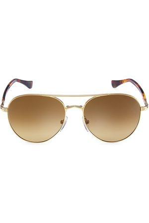 Persol Men Aviators - Men's 54MM Aviator Sunglasses