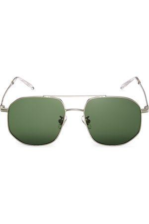 Kamo Women Aviators - Women's The Dude 55MM Aviator Sunglasses - Frame