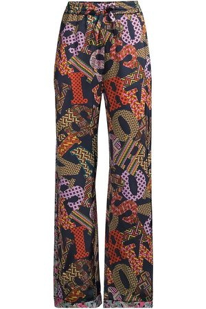 M Missoni Women's Logo Pajama Pants - Multi - Size 10