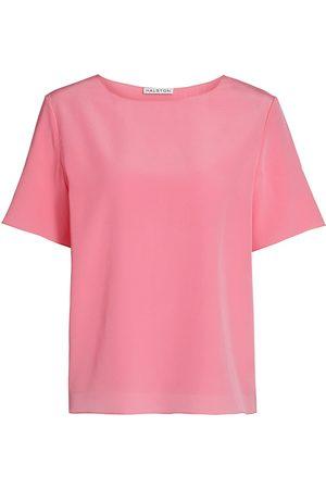 Halston Heritage Women's Shiloh Crewneck T-Shirt - - Size XS