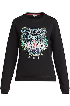 Kenzo Women Sports Hoodies - Women's Slim-Fit Classic Sweatshirt - - Size XL