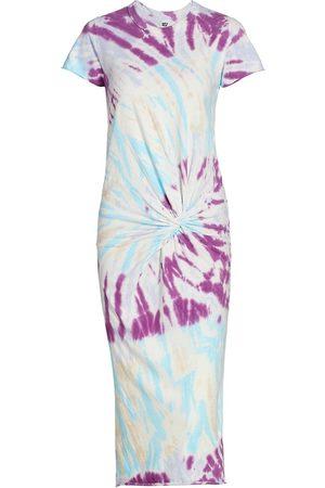 NSF Women's Zelda Twist Tee Dress - Haze - Size Large