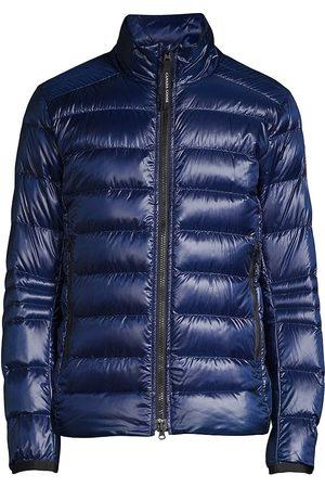 Canada Goose Men Rainwear - Men's Crofon Down Puffer Jacket - Naut Dusk - Size Large