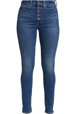 VERONICA BEARD Women's Debbie High-Rise Skinny Jeans - Lava Stone - Size 30