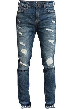 PRPS Men's Regina Warlock-Fit Distressed Jeans - Dark - Size 30