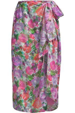 PATBO Women Beachwear - Women's Blossom Pareo - Rose