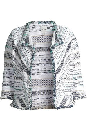 NIC+ZOE, Plus Size Women Blazers - Women's Shake It Up Jacket - Multi - Size XXL