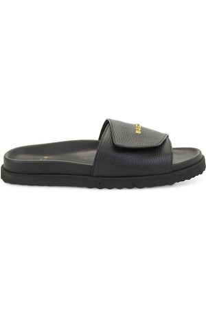 BUSCEMI Men Sandals - Men's Alyx Leather Slides - - Size 6 Sandals