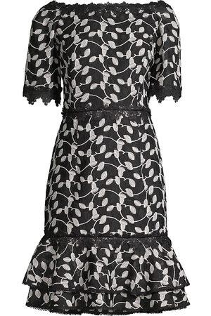 Shani Women Strapless Dresses - Women's Off-the-Shoulder Lace Dress - - Size 14