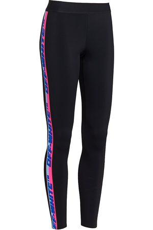OFF-WHITE Women Leggings - Women's Athleisure Logo Leggings - - Size Large