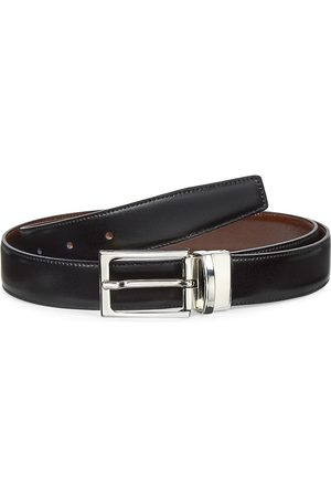 Saks Fifth Avenue Men's COLLECTION Leather Belt - - Size 32