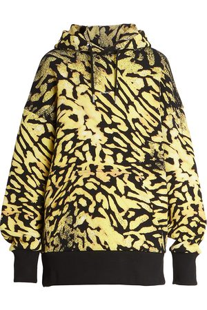 Givenchy Women's Oversized Printed Hoodie - - Size XS
