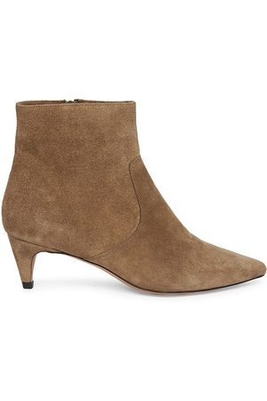 Isabel Marant Women's Derst Suede Ankle Boots - Taupe - Size 11