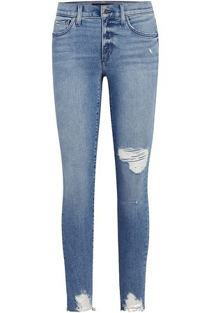 Joes Jeans Women's The Icon Distressed Ankle Jeans - Rookie - Size 0