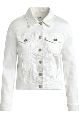 Hudson Women's Classic Fitted Trucker Jacket - - Size Large